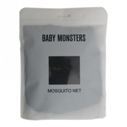 BABY MONSTERS MOSKITIERA DO WÓZKA EASY TWIN