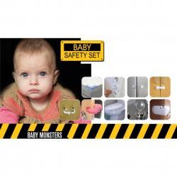 BABY MONSTERS ZESTAW ZABEZPIECZEŃ BABY SAFETY SET