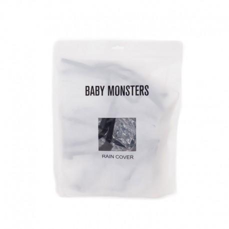 BABY MONSTERS FOLIA PRZECIWDESZCZOWA DO WÓZKA KUKI